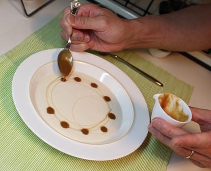 たかシェフのおうちごはん。-桃のスープ たかシェフ