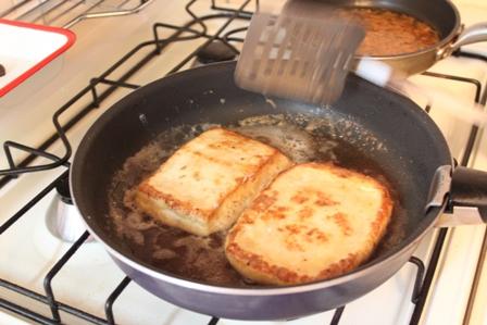 たかシェフのおうちごはん。-豆腐ステーキ たかシェフ