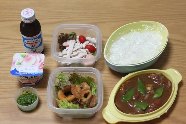 ■日勤のお弁当