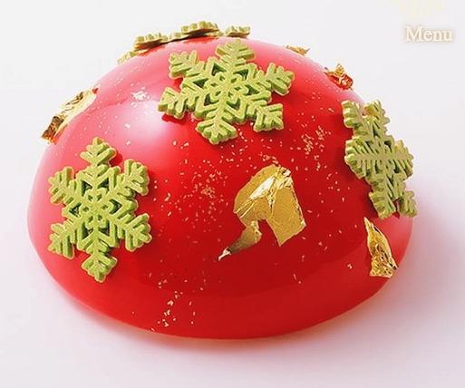 【おいしい物】ピエールエルメのクリスマスケーキ