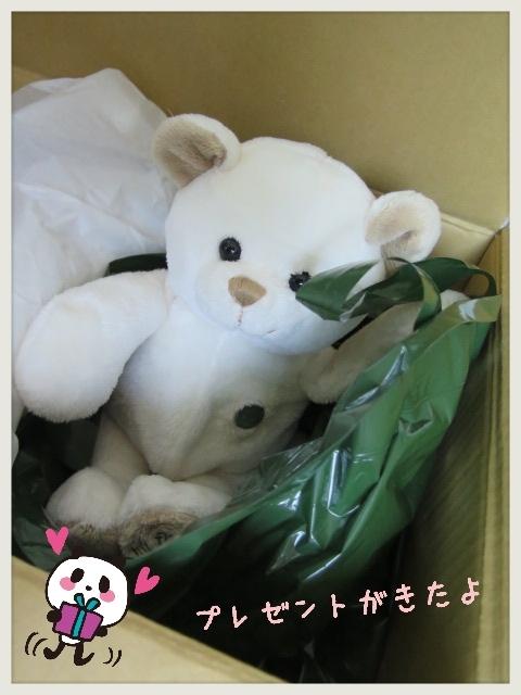 ●プレゼントもらったよ