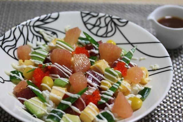 ■マグロ漬け丼  ~チャレンジDay15~