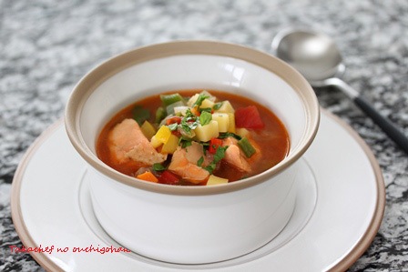■サーモンのスープ