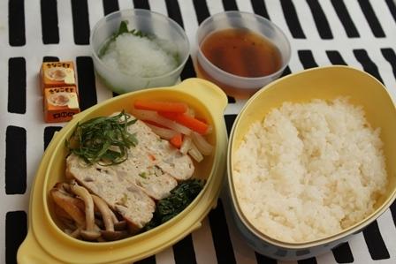 ■レンコン入り豆腐ハンバーグ弁当