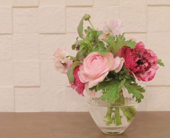 【お花】斬新な感じでお花が届いた!!