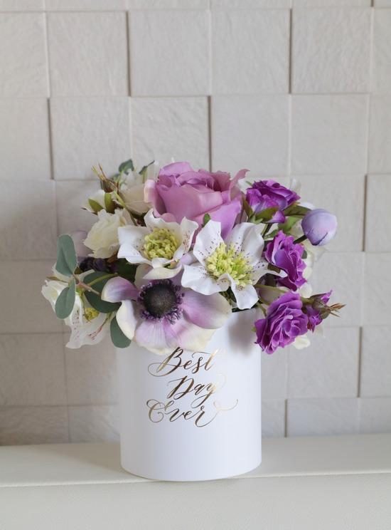【日記】甥っ子くんの彼女さんがつくってくれたお花のアレンジメント。水をあげようとしたら…