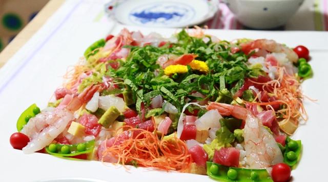 ■バラちらし寿司