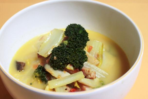 野菜のスープ カレー風味