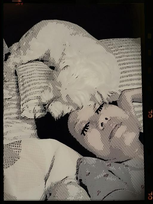 【寝写真】夫の趣味