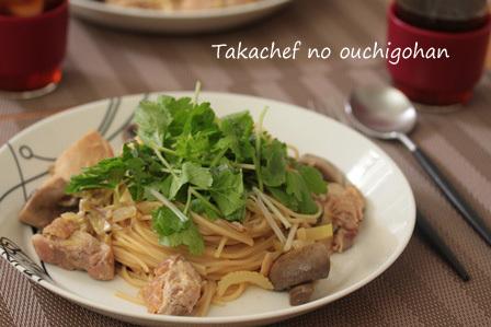 【料理】鶏のペペロンチーノ  柚子胡椒風味