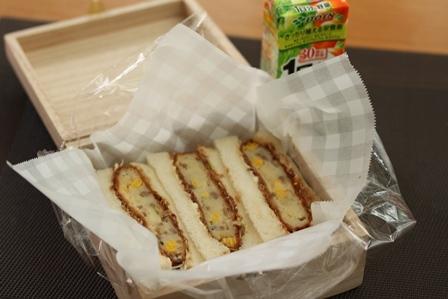■コロッケサンド弁当