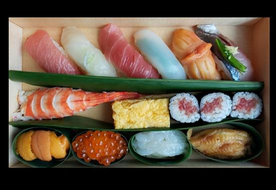 【テイクアウト】魯山 のお寿司