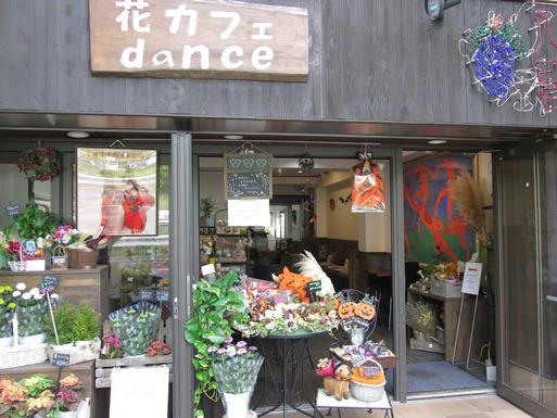 【ワンコとカフェ】花カフェ