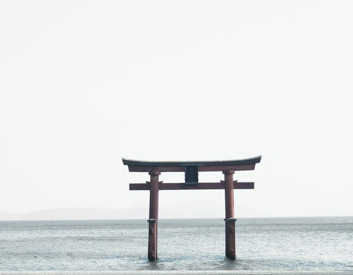 【琵琶湖の旅】白髭神社 ~お友達と逢えた!~