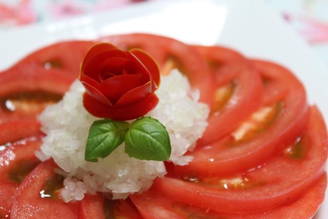 【動画】美女と野獣サラダの薔薇を作ってみる。