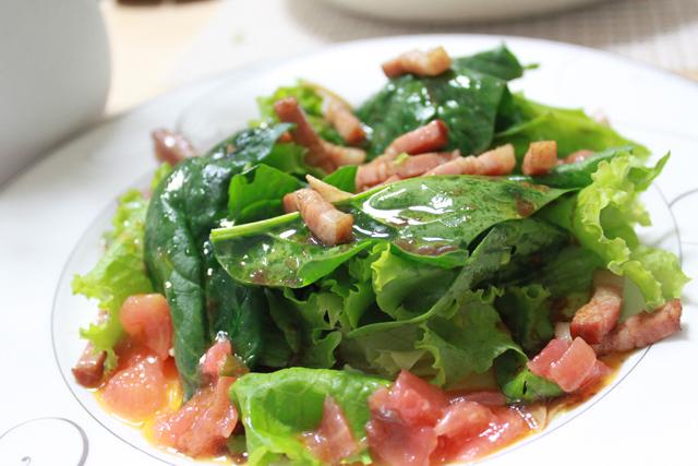 ■ほうれん草のサラダ