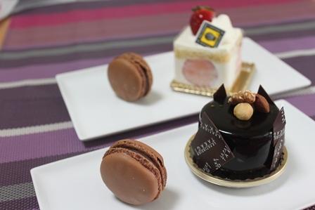 ■次は・・・    ショートケーキ マカロン付