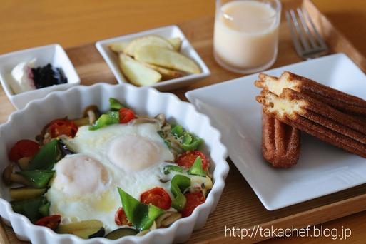 【料理&日記】朝ごはん