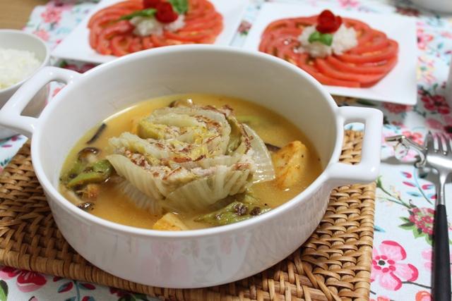 ■白菜と豚バラ肉のスープ煮
