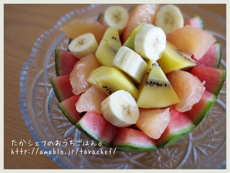 ■朝のフルーツ