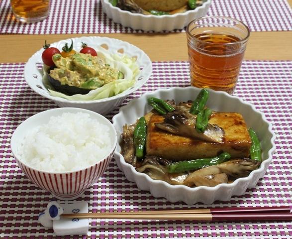■お豆腐ステーキ