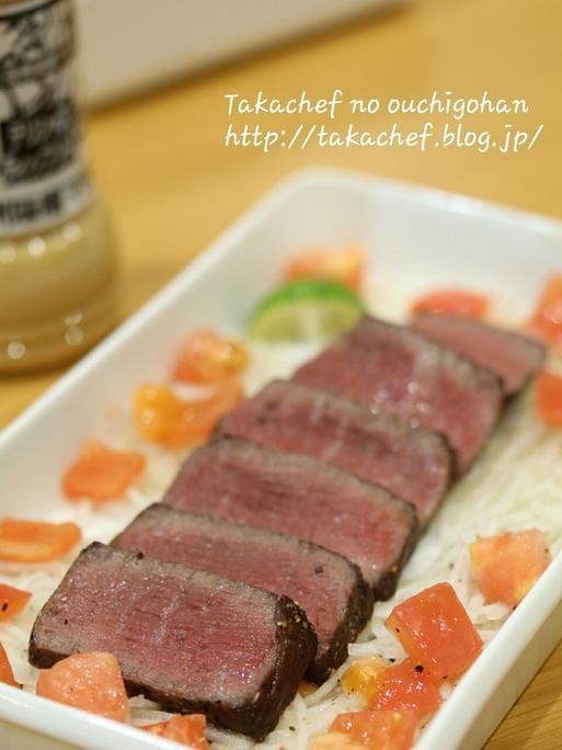 【料理】軽井沢のつるやのドレッシングで。
