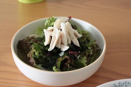 たかシェフのおうちごはん。-海藻のサラダ