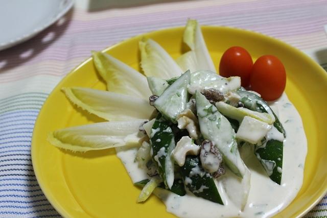 ■昨日の続き・・・  きゅうりとヨーグルトのサラダ