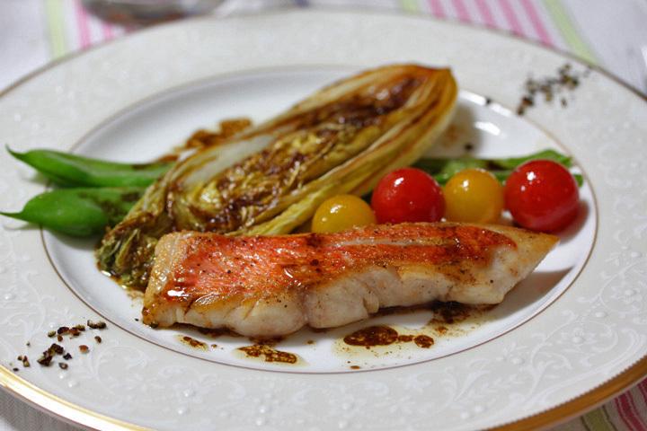 ■金目鯛のパルサミコソース