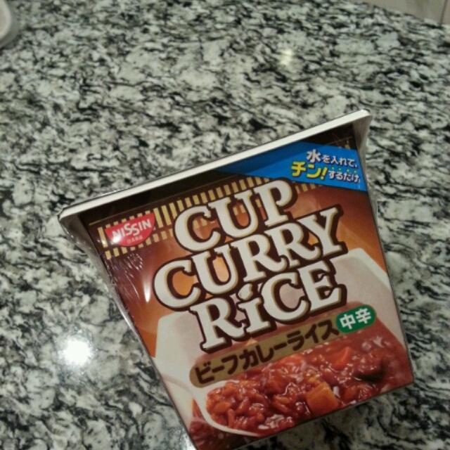 ■カレーのカップ麺みたいな…