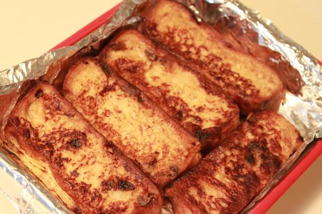 ■たかシェフのこだわり ~準夜後のおやつ、フレンチトーストを持ってくる~
