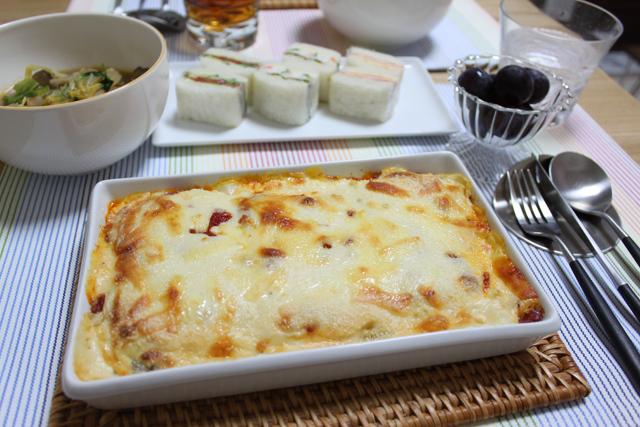■豆腐のラザニア