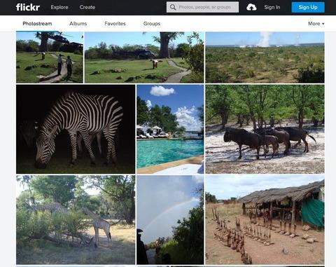 flickrのアフリカ写真