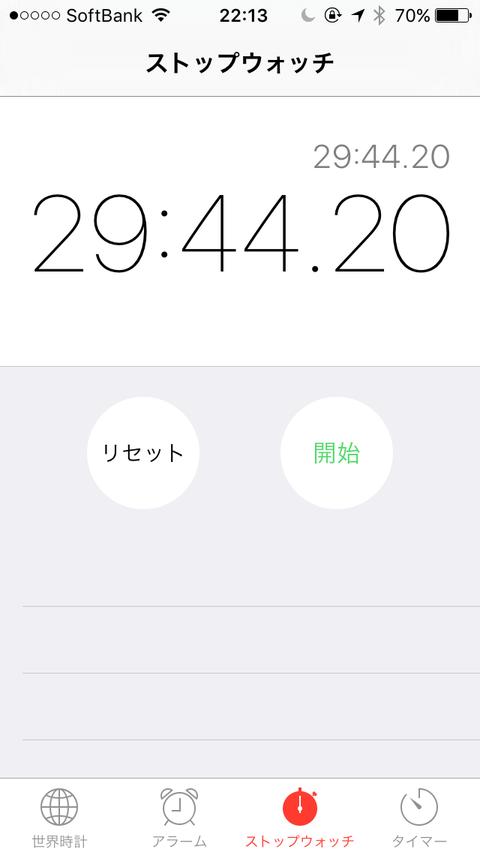 計測タイム