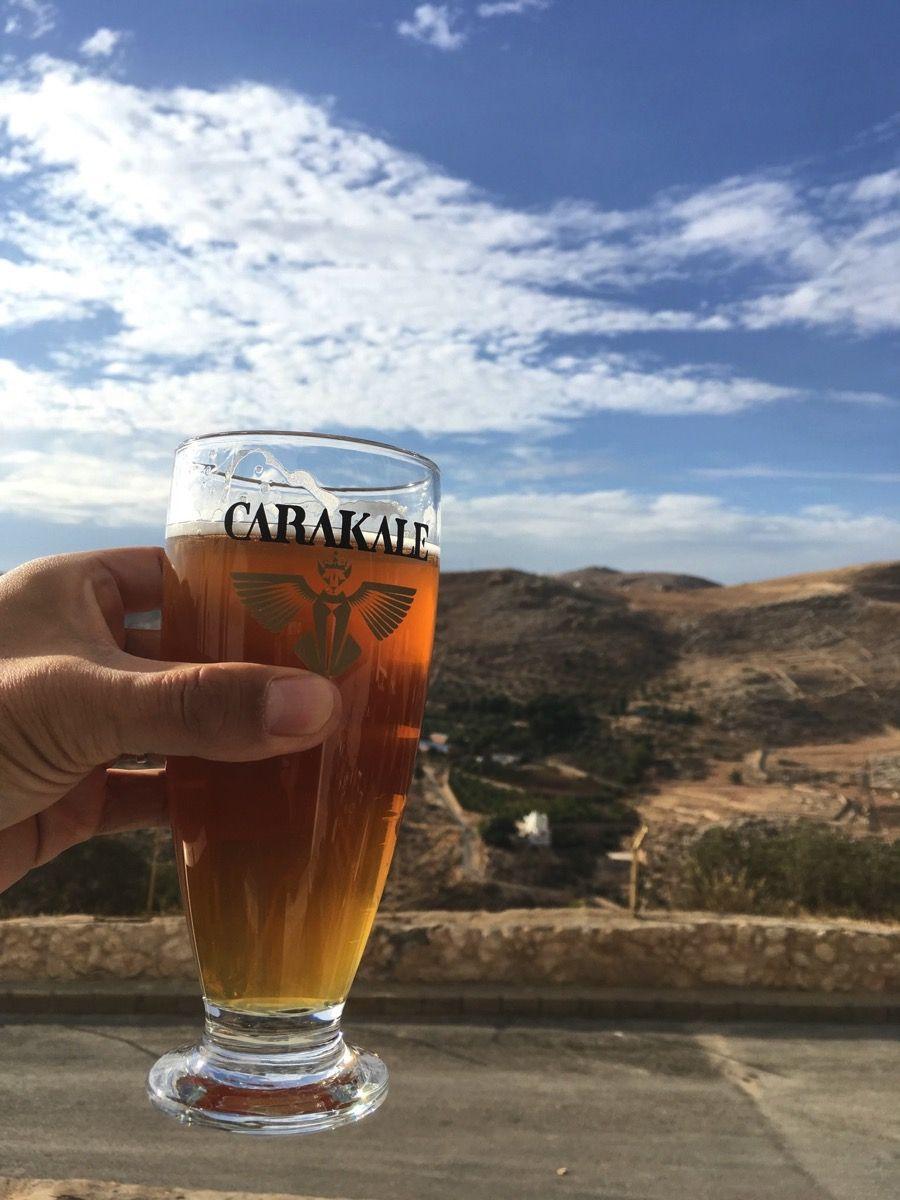 Carakaleとヨルダン渓谷