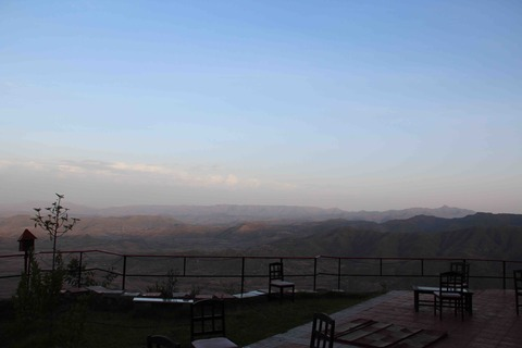 ラリベラの景観