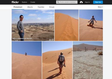 flickrのナミビア写真