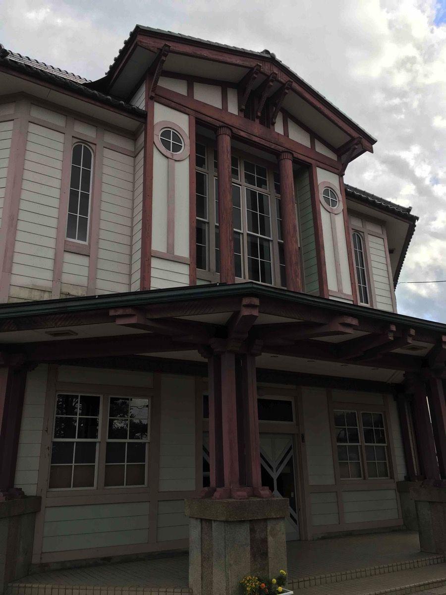 伝統のある校舎