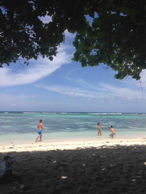ラディーグのビーチ