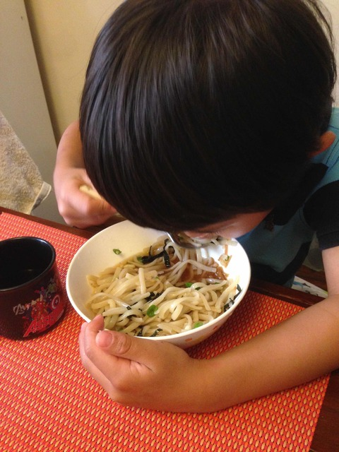 息子食事 のコピー