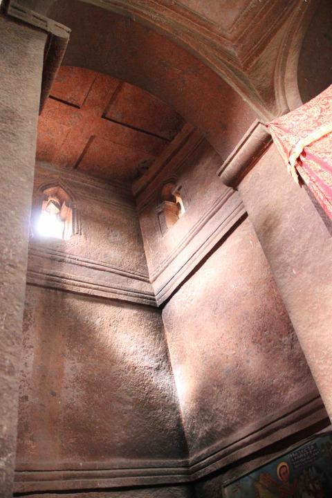 ギョルギス教会内部
