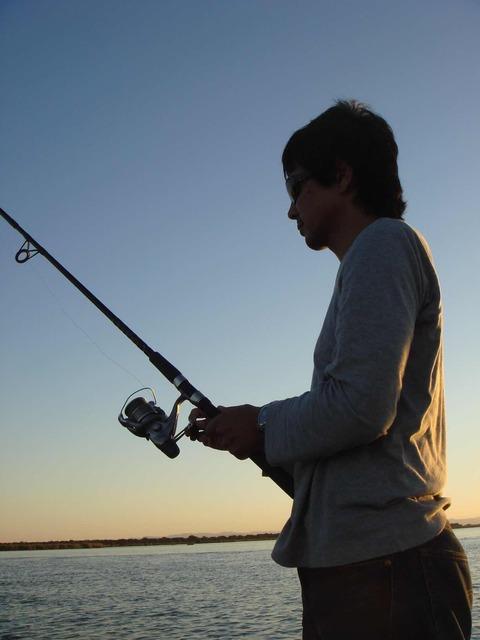 ザンベジ川での釣り