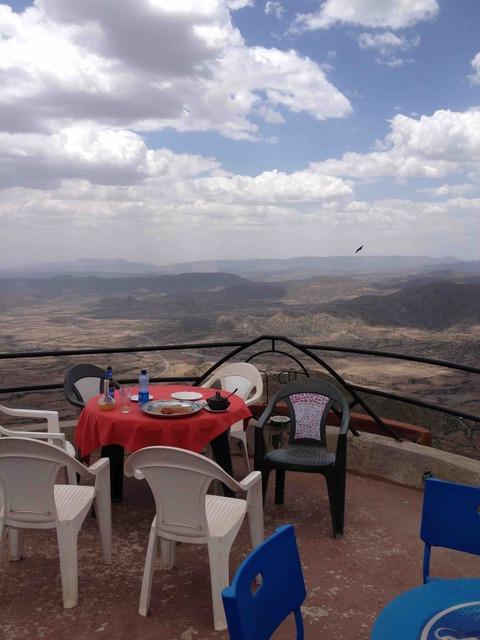 レストランからの景観