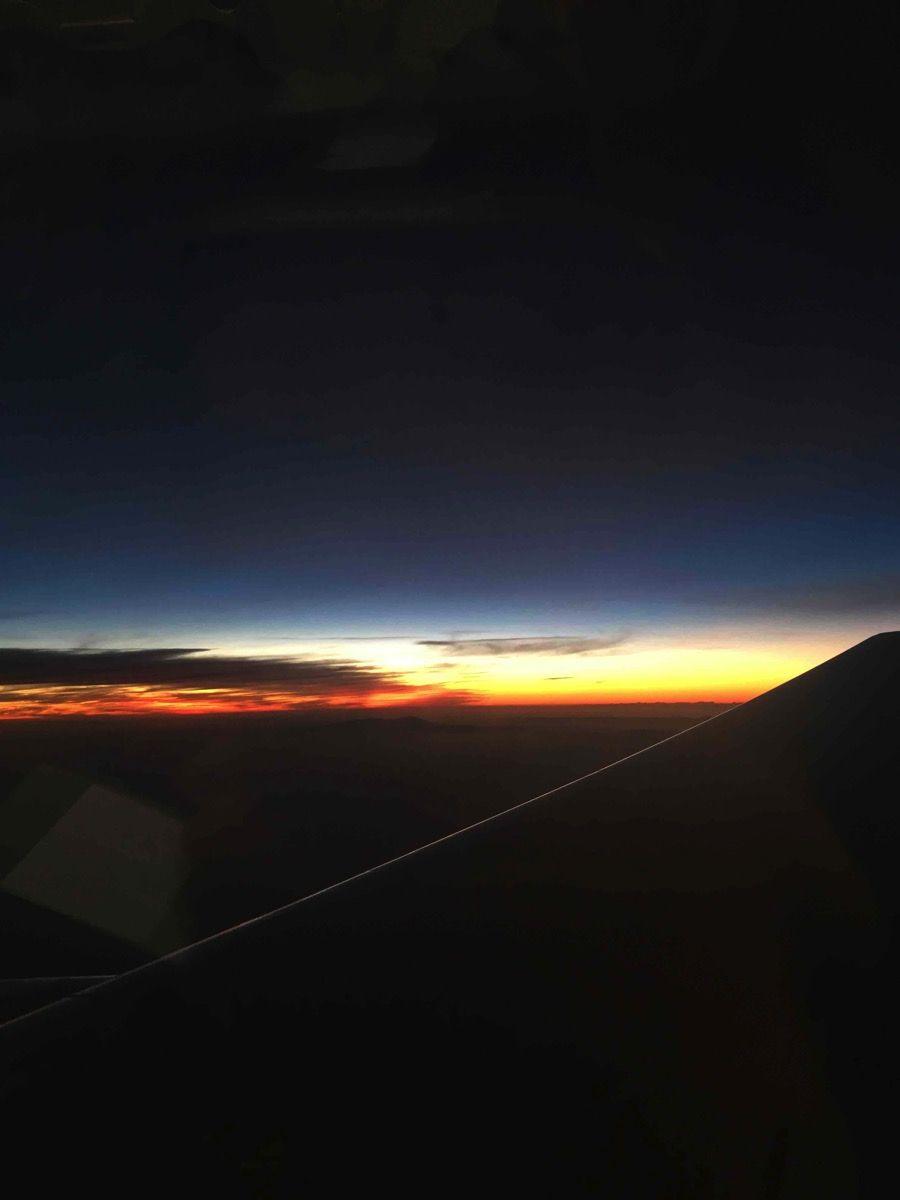 地中海に沈む夕日