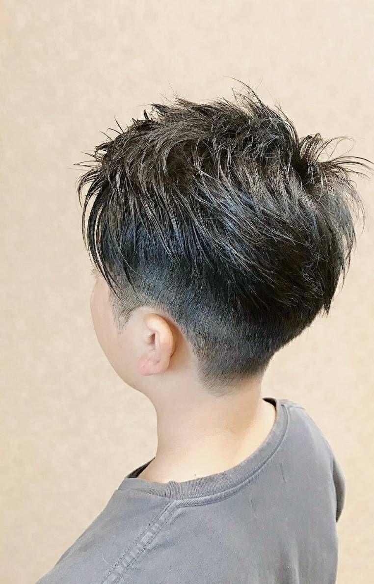 小学生 男の子 ヘア スタイル