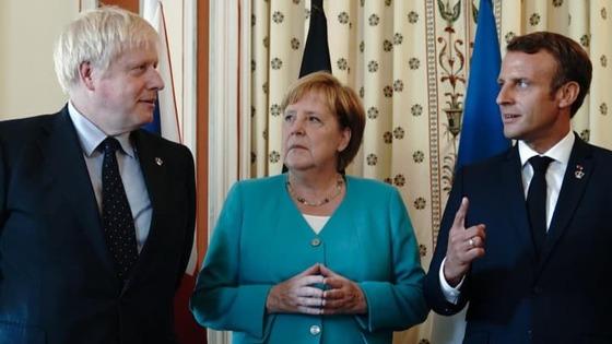 Merkel-Macron-Johnson