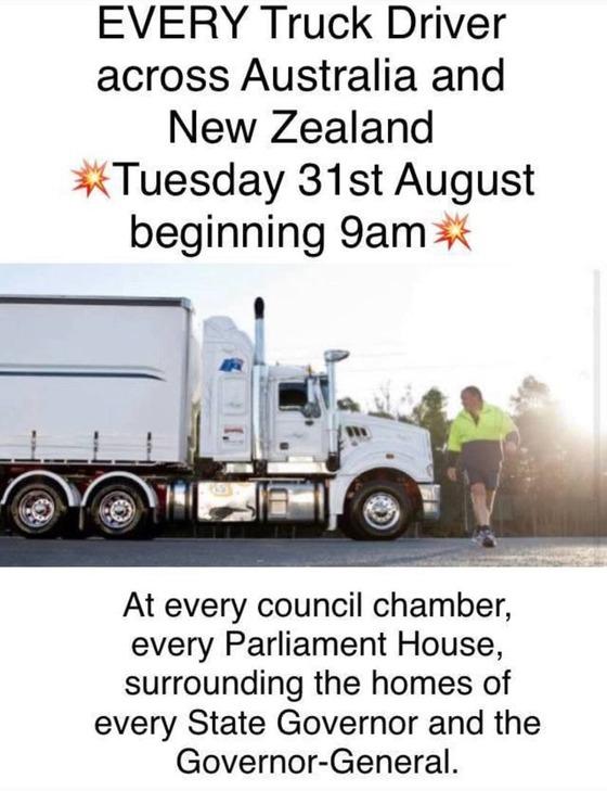 Trucker-strike-image
