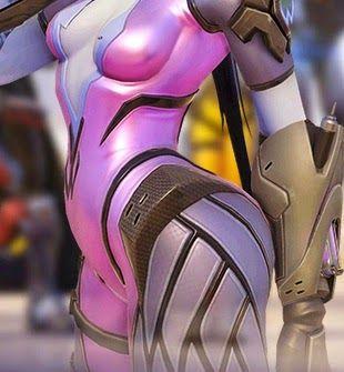 Overwatch Widowmaker body