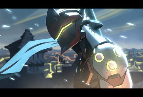 overwatch___genji_by_nesskain-da2wkzp
