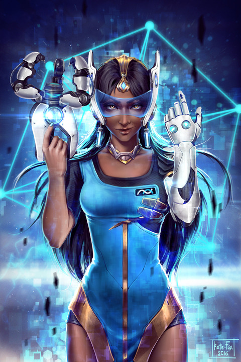 overwatch_symmetra_fanart_by_kate_fox-da15iqj